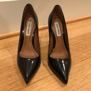 Black Steve Madden Pumps 6.5